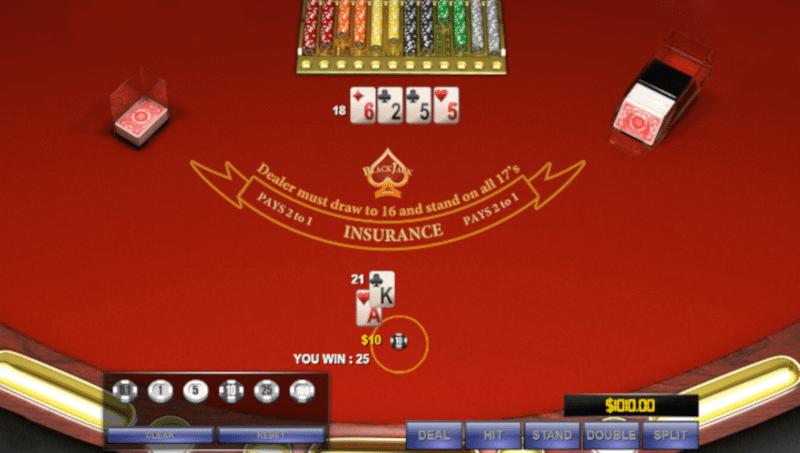 Online Blackjack Side Bets