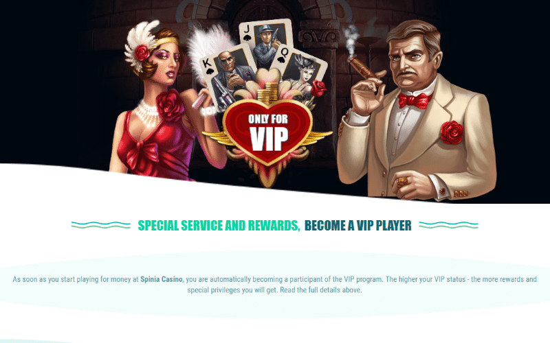 Online casino loyalty programme