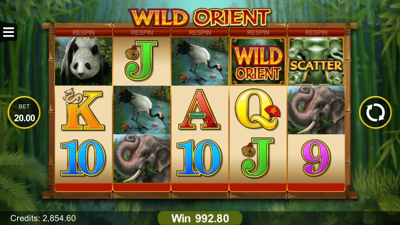 Wild Orient slot game