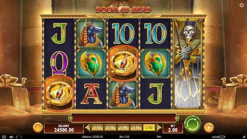 Cat Wilde and the Doom of Dead slot game